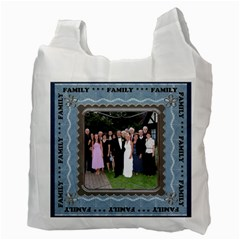 Family Love 2 Sided Recycle Bag By Lil    Recycle Bag (two Side)   4xd1iktv9k4e   Www Artscow Com Back