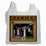 Happy Family 2-Sided Recycle Bag - Recycle Bag (Two Side)