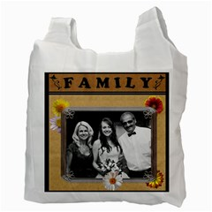 Happy Family 2 Sided Recycle Bag By Lil    Recycle Bag (two Side)   Eujosd0t7uad   Www Artscow Com Back