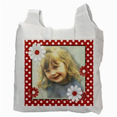 Red Easter Bag 1 By Lillyskite   Recycle Bag (two Side)   0ftddzmwlcz2   Www Artscow Com Back