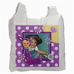 Purple Easter Bag By Lillyskite   Recycle Bag (two Side)   Vtv7c6mfl1li   Www Artscow Com Front