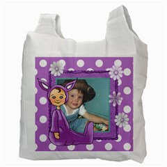 Purple Easter Bag By Lillyskite   Recycle Bag (two Side)   Vtv7c6mfl1li   Www Artscow Com Back