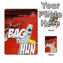 Jimbo s Bag The Hun Cards Set 2 By Jim   Multi Purpose Cards (rectangle)   Cw78u8vyqbu5   Www Artscow Com Back 8