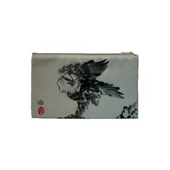 Eagle Two Sides By Trine   Cosmetic Bag (small)   Qy9zq0vd75ou   Www Artscow Com Back