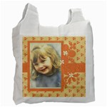 Orange Bag1 - Recycle Bag (Two Side)