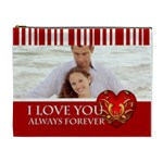 I love you - Cosmetic Bag (XL)