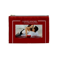 I Have Found Love By Wood Johnson   Cosmetic Bag (medium)   F5l4tgxfes3q   Www Artscow Com Front