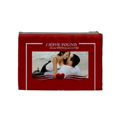 I Have Found Love By Wood Johnson   Cosmetic Bag (medium)   F5l4tgxfes3q   Www Artscow Com Back