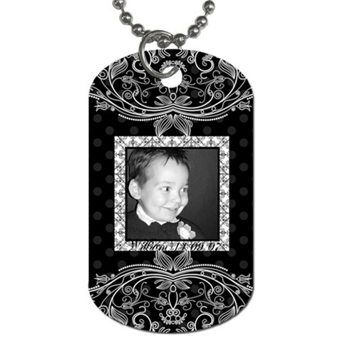 William Tag By Juvena   Dog Tag (one Side)   Qpbklz040b4g   Www Artscow Com Front