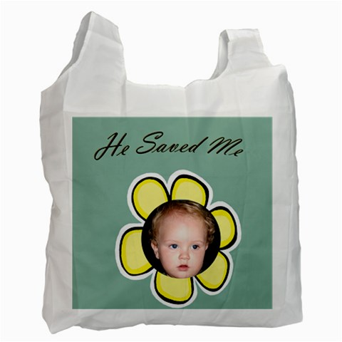 Easter Bag 4 By Deborah   Recycle Bag (one Side)   1jjjz7d3c02w   Www Artscow Com Front