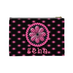 Large Makeup Bag By Nan Geha   Cosmetic Bag (large)   Bwefc886m5ka   Www Artscow Com Back