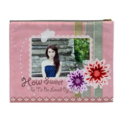 How Sweet Bag By Joely   Cosmetic Bag (xl)   Gypzwah8vnun   Www Artscow Com Back