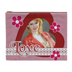 Big Love Bag By Joely   Cosmetic Bag (xl)   Gwcem08gaun4   Www Artscow Com Front