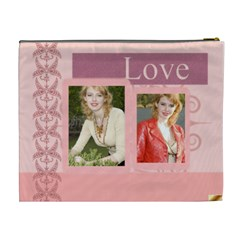 Big Love Bag By Joely   Cosmetic Bag (xl)   D2on81dcdrlt   Www Artscow Com Back