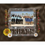 Friends Love 20x24 Canvas - Canvas 20  x 24