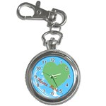Little Blue Keychain Watch - Key Chain Watch
