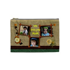 Mom Cosmetic Medium By Debora   Cosmetic Bag (medium)   Q9gstz35qw6p   Www Artscow Com Front