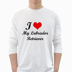 I Love My Labrador Retriever Long Sleeve T Shirt