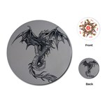 dragon - Playing Cards (Round)
