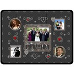 Family Love XL Fleece Blanket - Fleece Blanket (Extra Large)