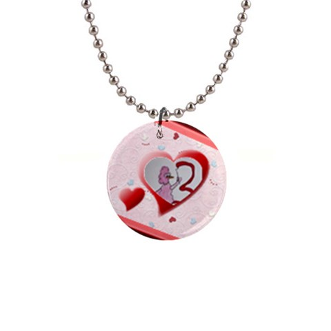 Heart By Trine   1  Button Necklace   V214643jt60q   Www Artscow Com Front