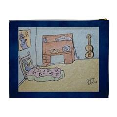 Boysroom By Trine   Cosmetic Bag (xl)   Ec1warm79b3v   Www Artscow Com Back