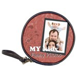 My kids funny photo - Classic 20-CD Wallet