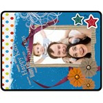 Happy Family - Fleece Blanket (Medium)