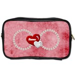 Daisy heart - toiletries bag two sides - Toiletries Bag (Two Sides)