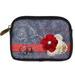 Denim case - Digital Camera Leather Case