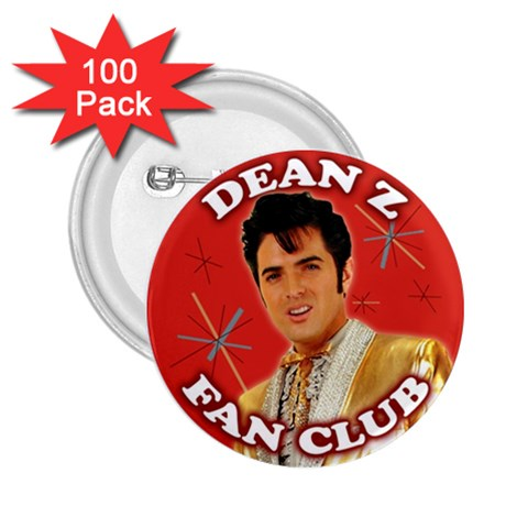 Dean Z Fan Day Buttons By Carol Schwenk   2 25  Button (100 Pack)   R502ta9v0d28   Www Artscow Com Front