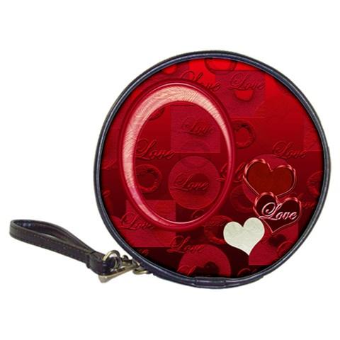 I Heart You Love 20 Cd Wallet By Ellan   Classic 20 Cd Wallet   L4d7rs6cfuoo   Www Artscow Com Front
