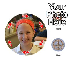 6th Grade Cards By Christy Patritti   Playing Cards 54 (round)   Va82t2netkd1   Www Artscow Com Front - Heart4