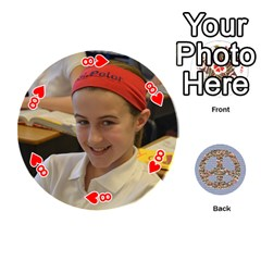 6th Grade Cards By Christy Patritti   Playing Cards 54 (round)   Va82t2netkd1   Www Artscow Com Front - Heart8