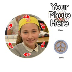 Ace 6th Grade Cards By Christy Patritti   Playing Cards 54 (round)   Va82t2netkd1   Www Artscow Com Front - HeartA