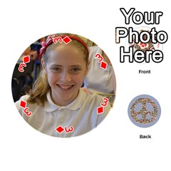 6th Grade Cards By Christy Patritti   Playing Cards 54 (round)   Va82t2netkd1   Www Artscow Com Front - Diamond3