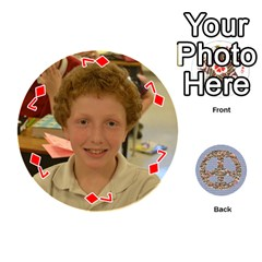 6th Grade Cards By Christy Patritti   Playing Cards 54 (round)   Va82t2netkd1   Www Artscow Com Front - Diamond7