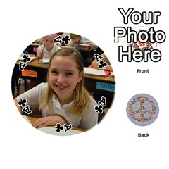 Ace 6th Grade Cards By Christy Patritti   Playing Cards 54 (round)   Va82t2netkd1   Www Artscow Com Front - ClubA