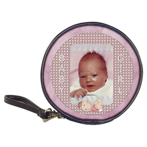 Baby Girl Cd/dvd Case By Lil    Classic 20 Cd Wallet   7agmtp70k90k   Www Artscow Com Front