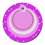 My Baby Girl mousepad - Round Mousepad