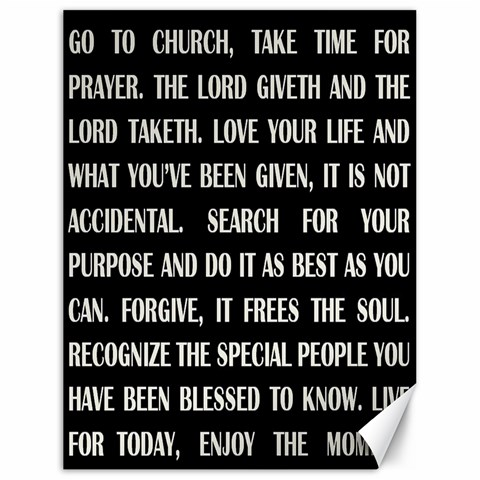 Go To Church By Julie   Canvas 18  X 24    Hdc659pazsj3   Www Artscow Com 24 x18 Canvas - 1