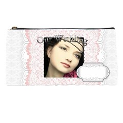 Our Wedding By Joely   Pencil Case   P3cogmvt7wco   Www Artscow Com Front