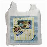 Family blue - Recycle Bag (One Side)