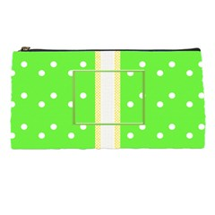 Green Dots Pencil Case By Daniela   Pencil Case   Aws5100038ok   Www Artscow Com Front