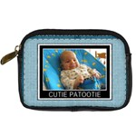 Cutie Patootie Leather Digital Camera Case - Digital Camera Leather Case