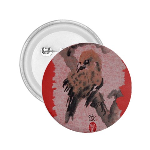 Bird 2 Cbp By Trine   2 25  Button   Kkh9i8og47mg   Www Artscow Com Front