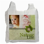 Nature of life - Recycle Bag (One Side)