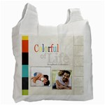 colorful of life - Recycle Bag (One Side)