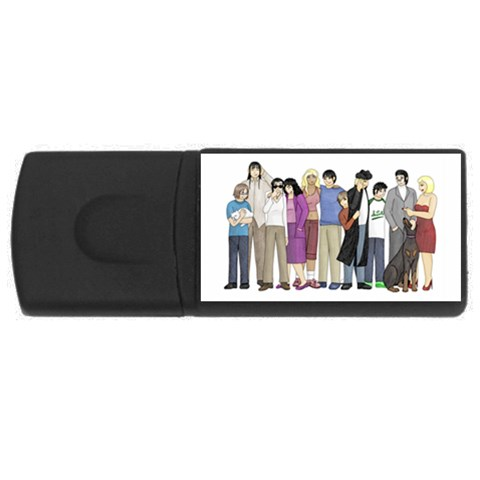 By Vickie Boutwell   Usb Flash Drive Rectangular (4 Gb)   Lmju3uuio83o   Www Artscow Com Front