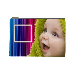 Rainbow Baby Cosmetic Bag L By Elena Petrova   Cosmetic Bag (large)   B2yv34q7zj5w   Www Artscow Com Front